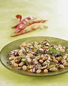 Fagioli e polpo con chili e menta - Tutte le ricette dalla A alla Z - Cucina Naturale - Ricette, Menu, Diete
