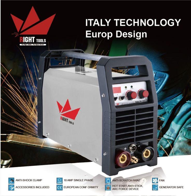 MMA Tig dc lift 160amp argon high frequency aluminium welding machine