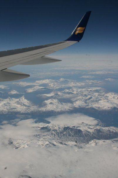 Flying over Grönland 2010