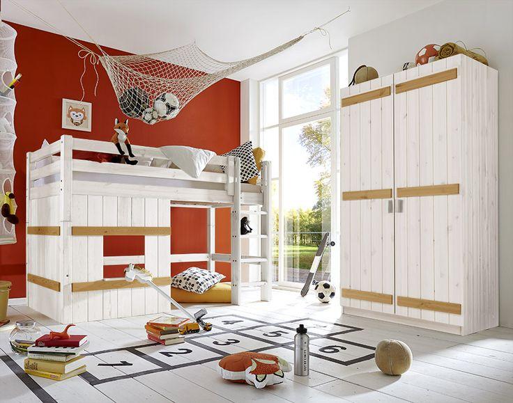 Schön Tolle Kinderzimmer Möbel Kombi Aus Massivem Holz. #wohnen #massivholz  #kinderzimmer