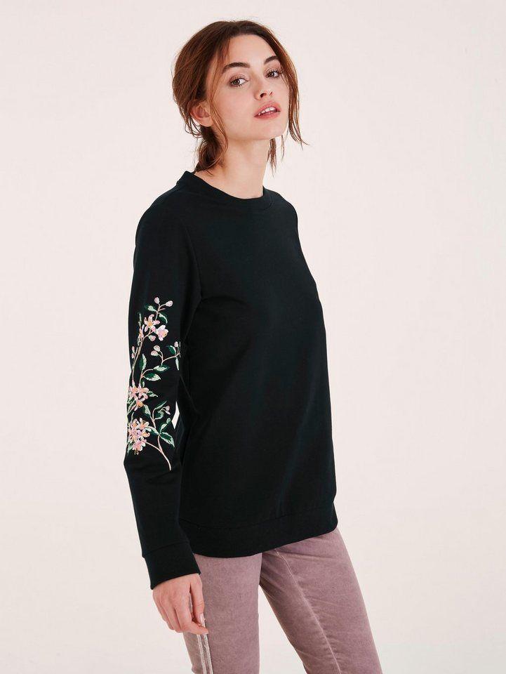 heine CASUAL Sweatshirt mit Stickerei