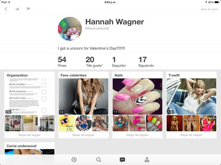 Hola!! Porfis sigan a Hannah Wagner, porque solo tiene un seguidor que soy yo, en la foto se ve pequeña pero ayudar es lo mejor @Hannahluv42