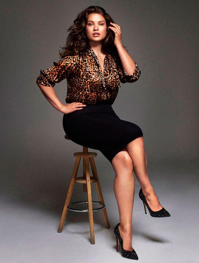 Tara Lynn en Elle España de Noviembre