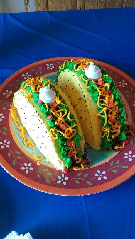 Taco cake for Daniel!