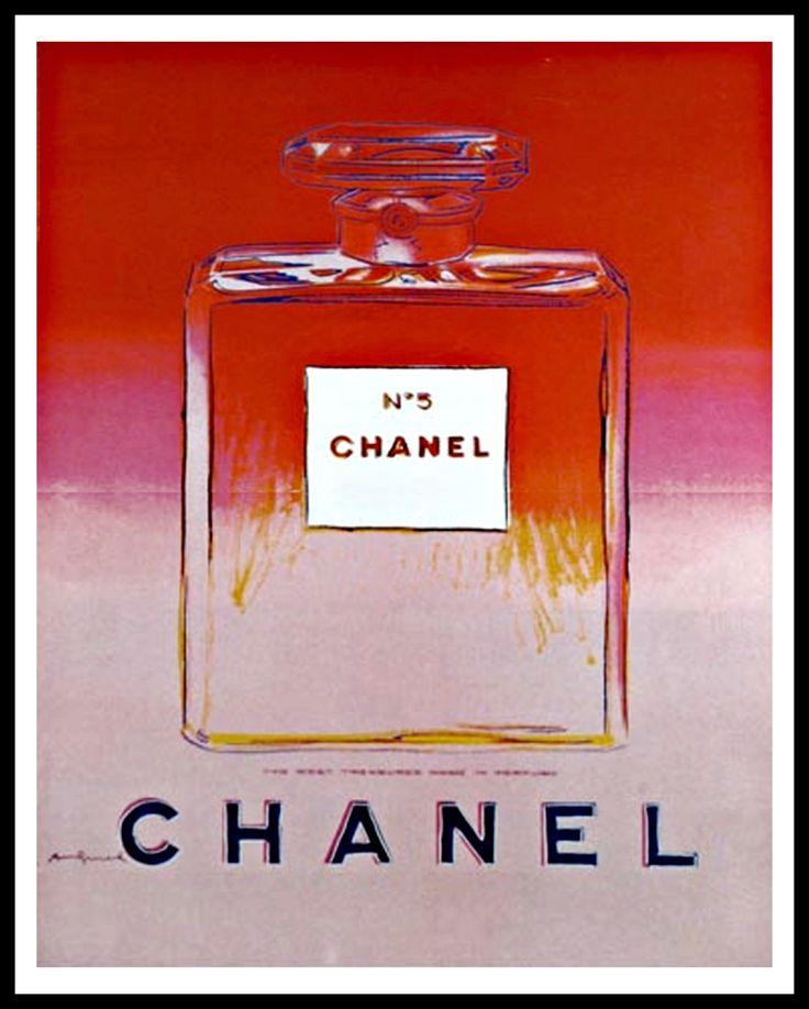 "Andy Warhol, ""Chanel"", 1985"