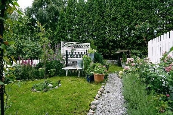 ... ble kåret more hage og terrasse landstil hager hage idyll den