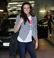 Michelle Keegan wears our Ladies Sugar White I Love NY T-Shirt  from Junk Food