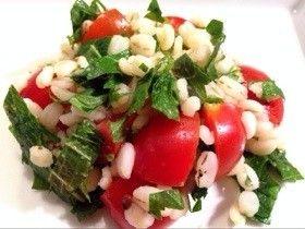 押麦とトマト、大葉のサラダ by ぞうさんのお台所 [クックパッド] 簡単おいしいみんなのレシピが269万品