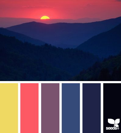 Color inspiration for our cabin blanket I'm about to start!