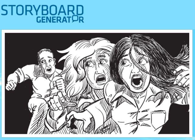 Crea y aprende con Laura:  Storyboard Generator, generador de guiones gráficos