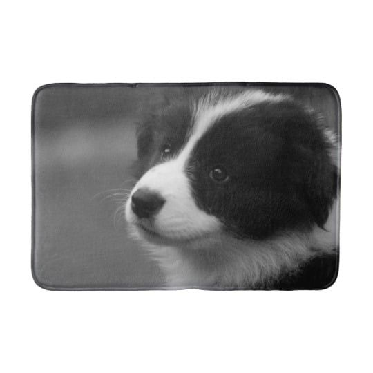 Collie Puppy Bath Mat Cute Puppy Dog Animal Pets Cute