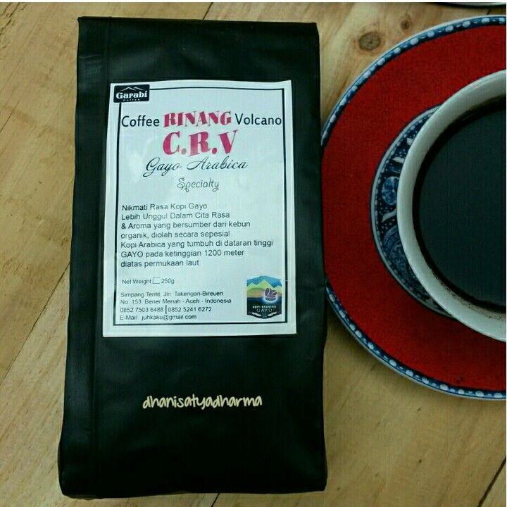 Gayo Coffee from Indonesia, hmmmm...