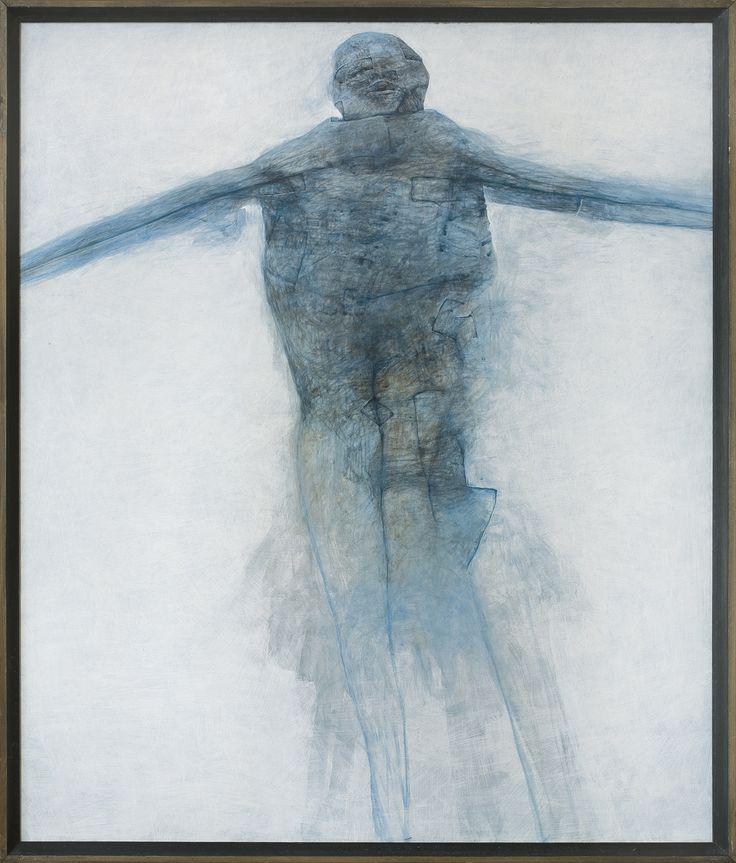 Zdzisław Beksiński | <i>BEZ TYTUŁU, 1992</i> | akryl, płyta | 87.5 x 75 cm