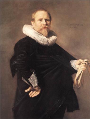 Frans Hals (Antwerp 1582 – Haarlem 1666)  Portrait of a Man