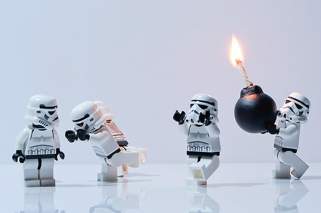Bomberman? by xJohns | LEGO Star Wars Stormtrooper Minifigs