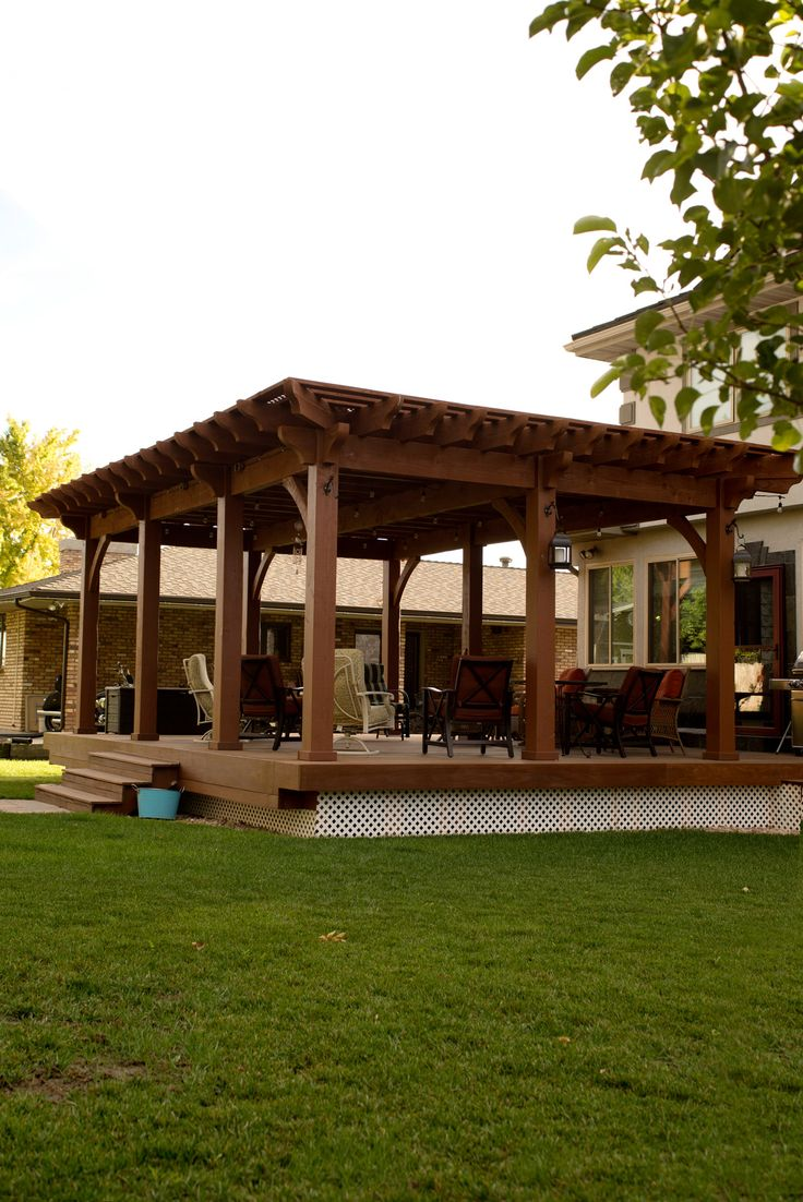 a western timber frame 8000 series shadescape diy pergola kit