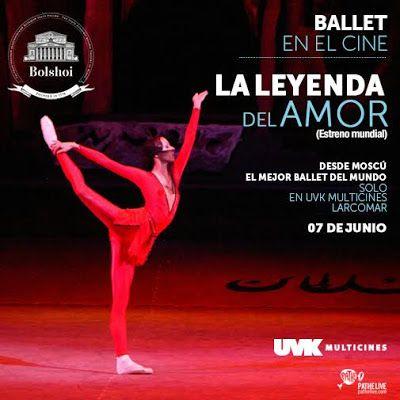 LIMA VAGA: Ballet Ruso presenta 'La Leyenda de Amor' en el UV...