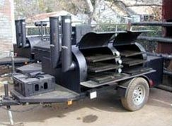 Klose Pits has made some of the most highly regarded BBQ smokers since 1986. This 30 inch  x 6 foot competition pit has all the bells and whistles.
