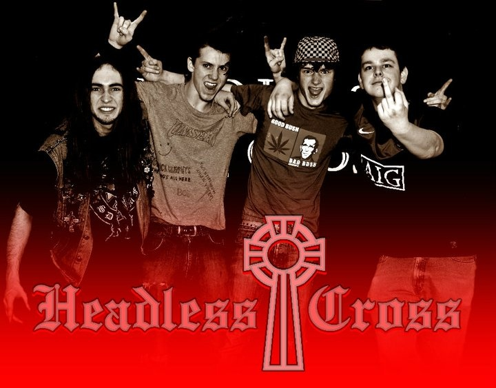 The old line up of Headless Cross.