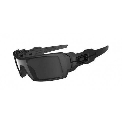 Oil Rig Matte Black W / Black Iridium - Sunglasses - Eyewear - Tactical Distributors- Tactical Gear