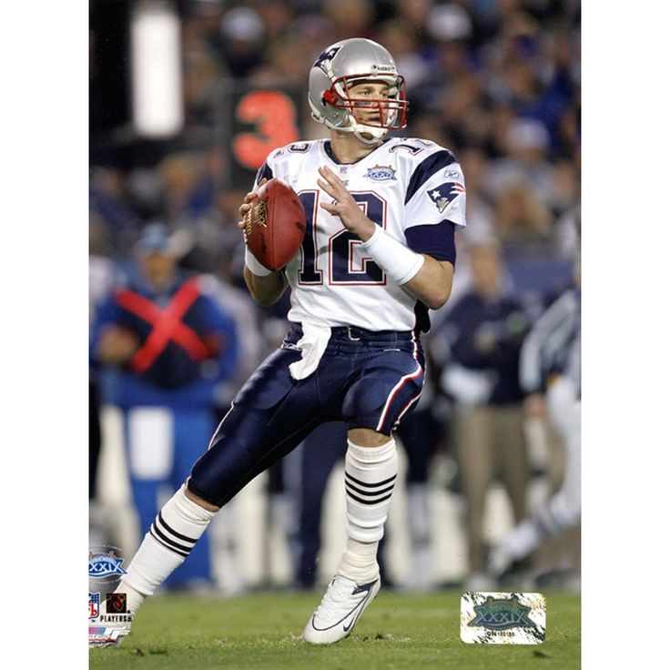 Tom Brady Patriots SB39 Back to Pass 8x10 (PF) - This incredible Tom Brady Photo is a must own. When this item is framed it makes the perfect gift. Gifts > Licensed Gifts > Nfl > New England Patriots. Weight: 1.00