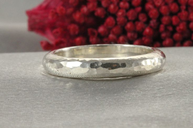 A personal favorite from my Etsy shop https://www.etsy.com/il-en/listing/265259808/hammered-stylish-rings-silver-rings