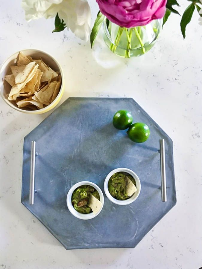 How To Make Your Own Beautiful Concrete Tray