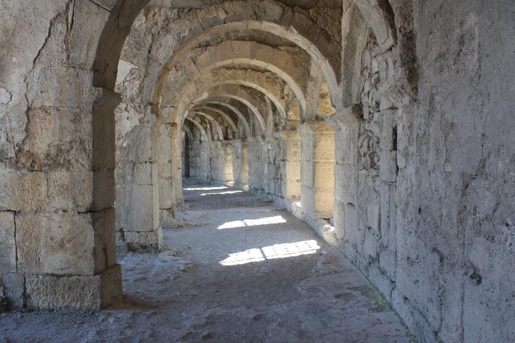 Turkey - Aspendos; antique Roman theatre