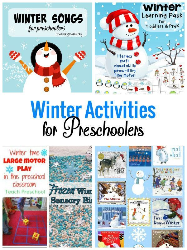 My daughter loves printables and sensory bins so these Winter Activities for Preschool will definitely keep your little one busy.