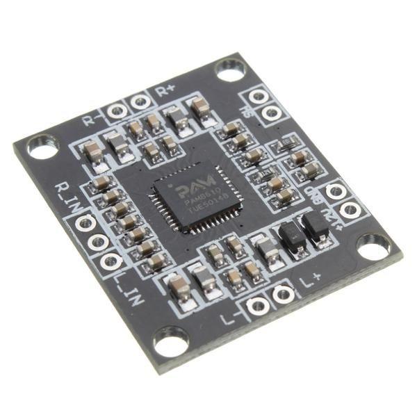 5pcs PAM8610 Digital Amplifier Board 2x15W Dual Channel Stereo Class D