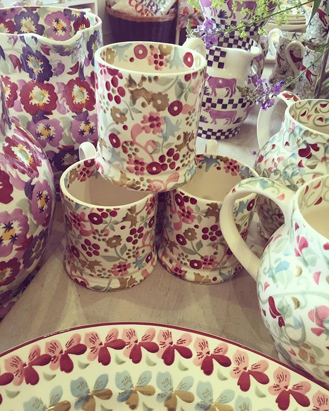 These mugs wanted to come and live with me but it wasn't meant to be X #emmabridgewater