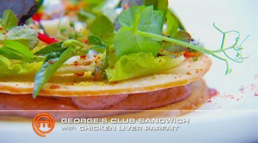 George's club sandwich   MasterChef Australia #masterchefrecipes