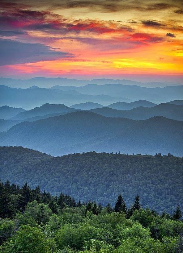 Blue Ridge Mountains Virginia Nature Pinterest Mountains