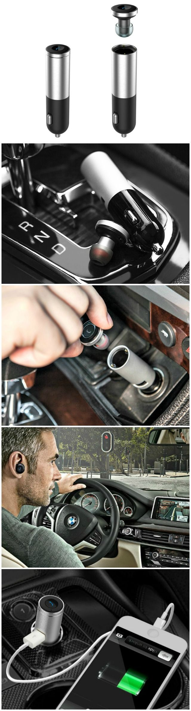 The Gosund XP01 Super Mini Bluetooth Earbud with smart car charger is the perfect car hands free kit that we have been looking for.