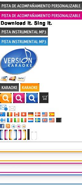 Descargar Playbacks y karaokes