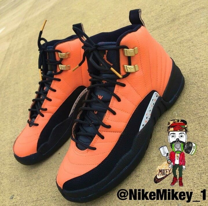 Customized 12's. Jordan Retro ...