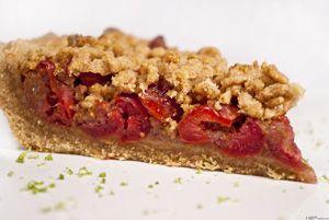 Cseresznyés (majd barackos-almás, később erdei gyümölcsös) pite ~ Receptműves