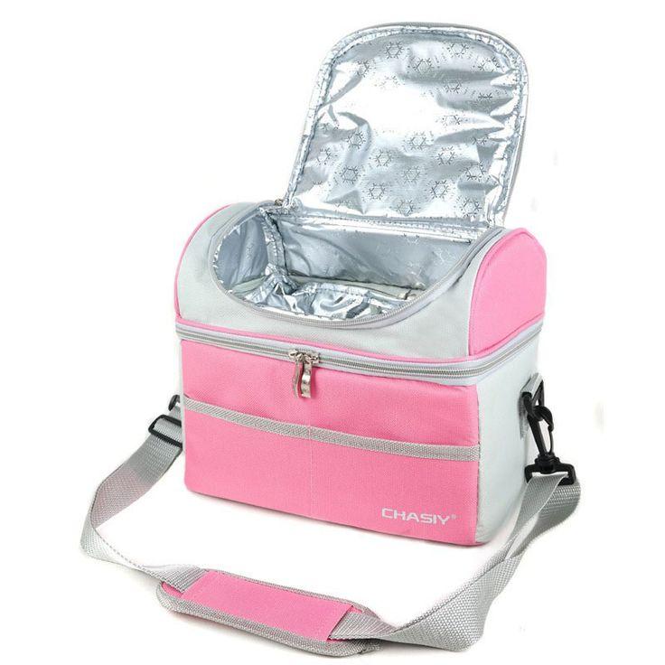 Chasiy multi lancheira más fresco térmica bolsa de almuerzo con aislamiento para el cabrito trabajo escolar bolsas de alimentos termo y almuerzo de picnic bolso de las mujeres caja