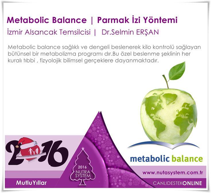 2016 | MUTLU YILLAR NUTRA SYSTEM | Alsancak Polikliniği   Metabolic Balance | Kişiye Özel Beslenme   Bu Uygulama Dr.Selmin ERŞAN tarafından İzmir'de NUTRA SYSTEM ALSANCAK Polikliniğinde Uygulanmaktadır.  http://www.nutrasystem.com.tr/izmir-zayiflama-izmir-diyetisyen-izmir-kilo-verme-izmir-beslenme-kocu/metabolic-balance-programi/