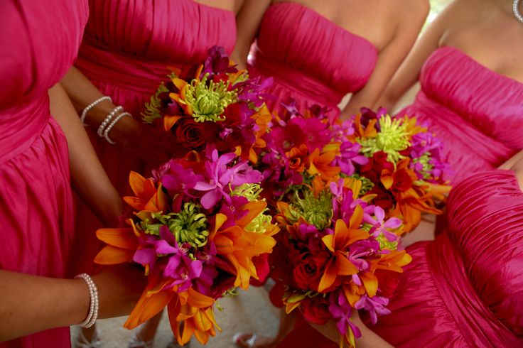 Fuschia And Orange Wedding Invitations: 21 Best Images About Wedding Colors: Hot Pink, Lime Green