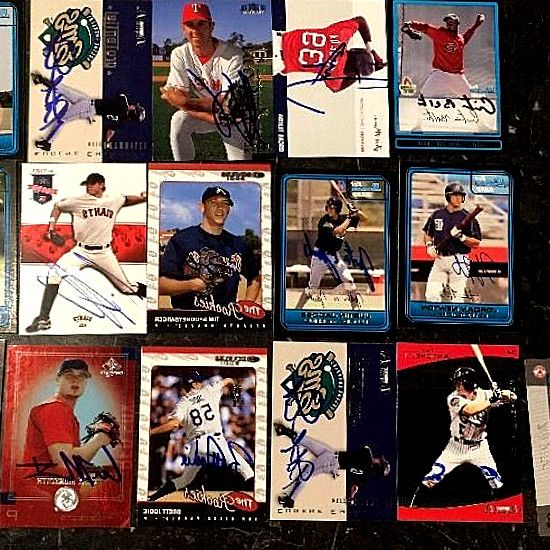 2017 LOT OF 16 TOPPS MLB STAR MATERIAL RELICS  AUTOGRAPH CARDS. Lot Of 13 Signed Autographed Auto Baseball Cards MLB Eric Karros Dodgers. Lot of (10) Different Rom Autographed Minor League Baseball Cards. (16) Atlanta Braves Autograph Signed Card Lot. LOT OF 29 AUTOGRAPHED SIGNED AUTO BASEBALL CARDS ROM SPOONEYBARGER TAYLOR. #BaseballCards #baseballcard #Baseball #Cards #Sports #Deals #Collectibles #gifts