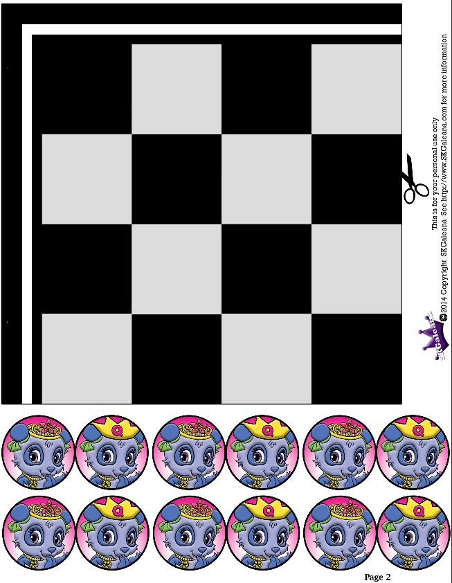 2 Of 5 Checkers Game Skgaleana Disneys Princess Palace Pets Free Coloring Pages And Printables