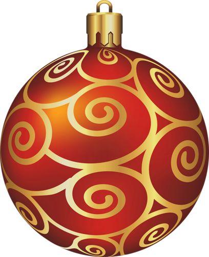 Transparent Large Red Christmas Ball | Scrapbook Christmas | Pinterest