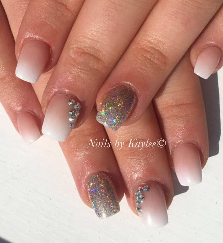 Shorter nails can look pretty too nails acrylic
