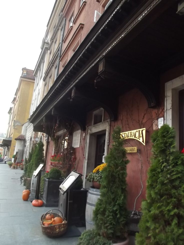 Urokliwe restauracje Starego Miasta