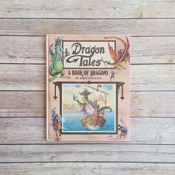 New in The Book Cottage: Dragon Tales A Book of Dragons 1990s Kids Fantasy Book Medieval Tales The Fearsome Dragon The Enchanted Rock Where Have All The Dragons Gone by TheBookCottage