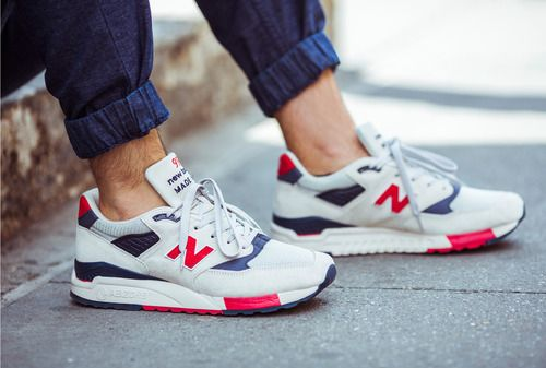 These are so awesome!  J.Crew x New Balance® 998 Independence Day