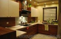 Projekty kuchni półotwartych połączonych z salonem lub jadalnią :: GALERKIWNETRZ.PL