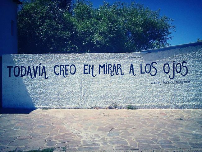Acción Poética Bariloche #TheCrazyCities #crazyBariloche