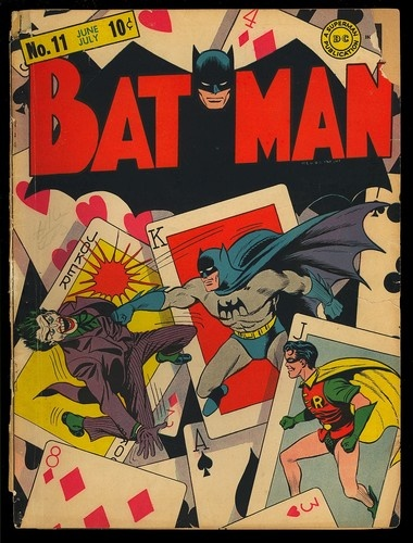 Batman 11 Original Covers Only Classic Joker Golden Age DC Comic 1942 | eBay